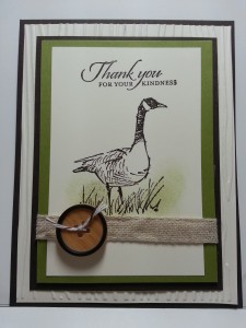 Stampin' Up! Wetland's Stamp Set