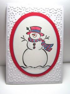 Frosty stamp set