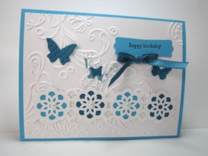 stampin' up! beautiful wings embosslit die