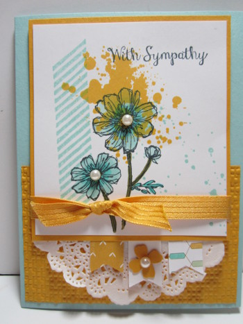 bloom with hope stamp set