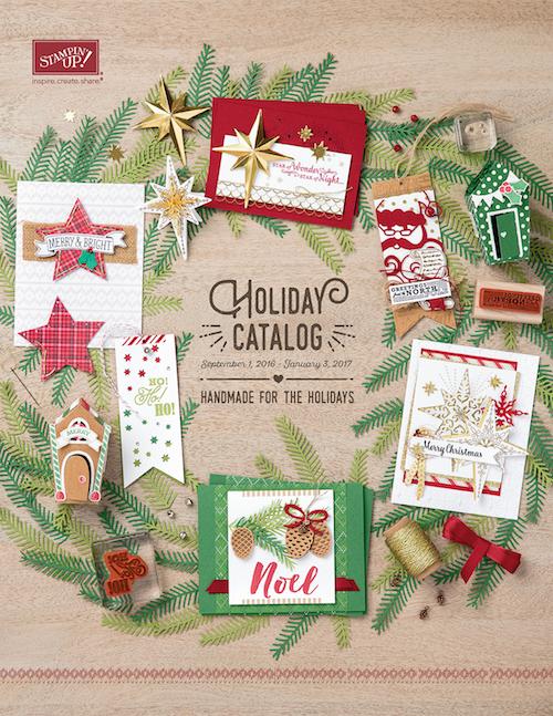 stampin up holiday catalog 2016