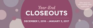 stampin' up! year end close-outs