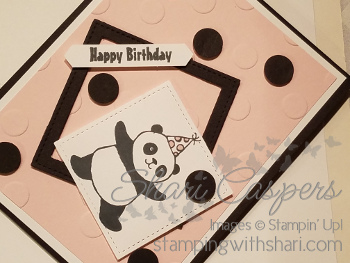 Stampin' Up! Party Panda