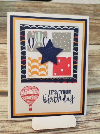 up, up & away stampin' up!