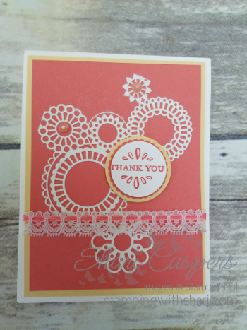 detailed laser cut specialty stampin up