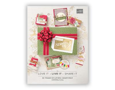2018 holiday catalog stampin' up!