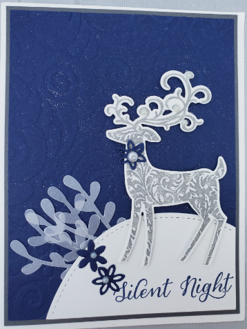 Stampin' Up! Christmas cards