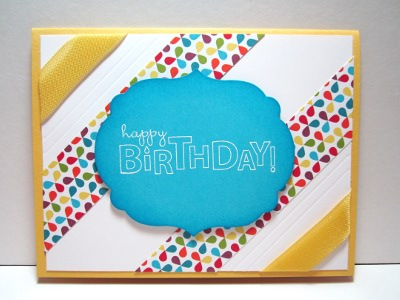 Bring on the Cake Stampin' Up! stamp set