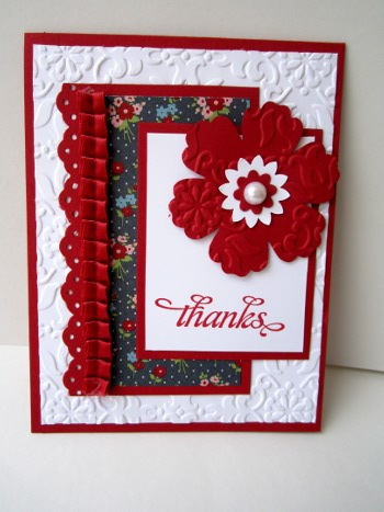 stampin' up! blossom punch