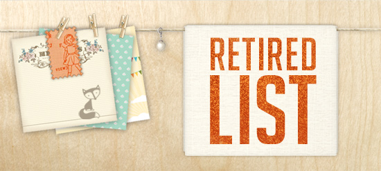 Stampin' Up! Retired List