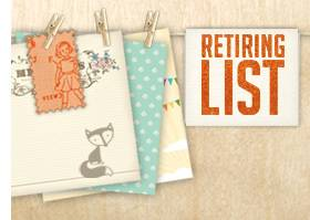 Stampin' Up! 2012 Retirement List